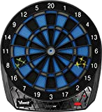 Viper Vtooth 1000 EX Online Electronic Dartboard Compact Size Bluetooth App Scoring for Use with Android and Apple Devices with Impact-Tough Nylon Target for Lasting Durability Fewer Bounce Outs