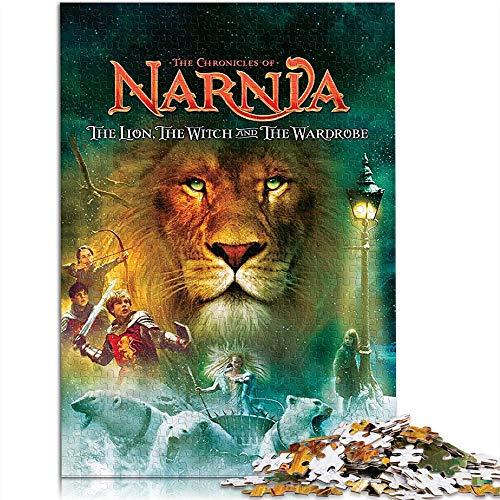 YITUOMO - 1000 puzzle per adulti, i cronici di Narnia: Poster di film Puzzle classico, per bambini, pitture Intelintellettuali, gioco di puzzle, giocattolo regalo, 52 x 38 cm