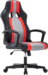 IntimaTe WM Heart Chaise Gaming Ergonomique, Fauteuil de Bureau Pivotant, Dossier Haut, Chaise pour Ordinateur, Assis Remb...