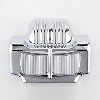 Chrome Stock Oil Cooler Cover for Harley Touring Electra Road Street Glide 2011-2016
