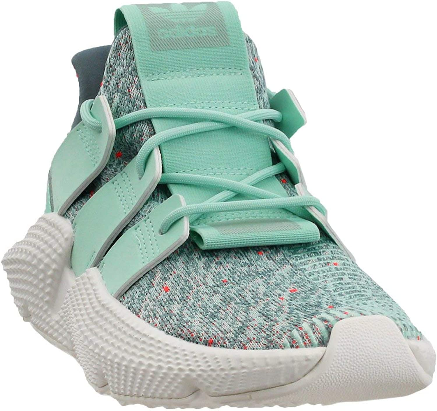 Adidas Prophere Womens in Clear Mint Solar Red, 8.5