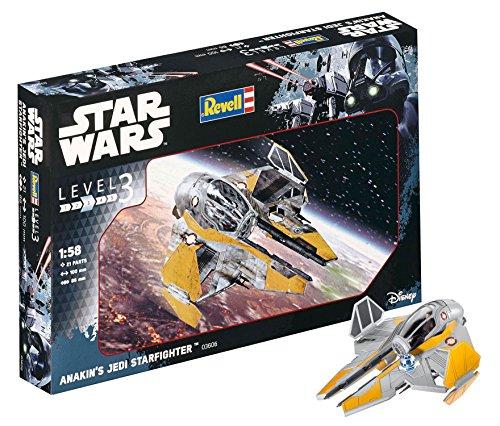 Revell- Anakin's Jedi Starfighter Macheta Astronave Star Wars, 10+ Años, Multicolor (03606)