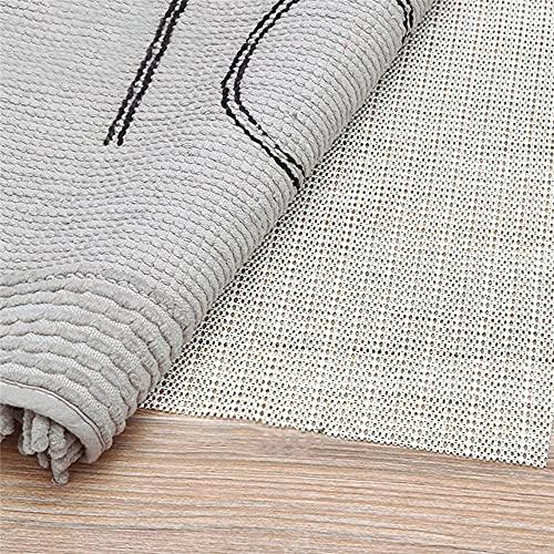 Alfombrilla Antideslizante para Alfombra, Base Antideslizante para alfombras, Fácil de Moldear, Protección contra Resbalones, Rejilla Antideslizante para Alfombras Malla, 120*180cm