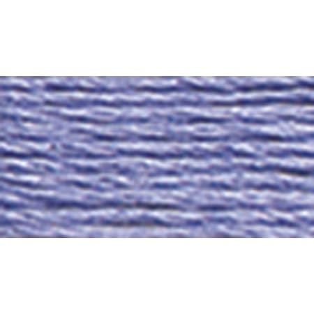 12 Skeins DMC Embroidery thread Mouline #340 Medium Blue Violet