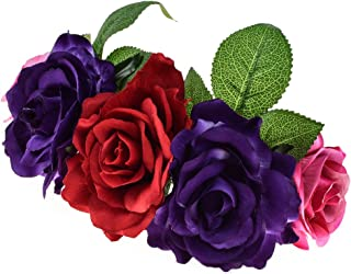diy flower crown dia de los muertos