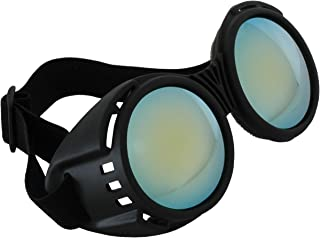 Steampunk Industrial Black Goggles for Women