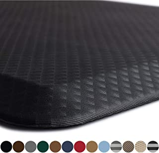 Kangaroo Original Standing Mat Kitchen Rug, Anti Fatigue Comfort Flooring, Phthalate Free, Commercial Grade Pads, Ergonomic Floor Pad for Office Stand Up Desk, 32x20, Black