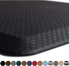 Kangaroo Original Standing Mat Kitchen Rug, Anti Fatigue Comfort Flooring, Phthalate Free, Commercial Grade Pads, Waterproof, Ergonomic Floor Pad for Office Stand Up Desk, 32x20, Black