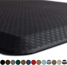 Kangaroo Original Standing Mat Kitchen Rug, Anti Fatigue Comfort Flooring, Phthalate Free, Commercial Grade Pads, Waterproof, Ergonomic Floor Pad for Office Stand Up Desk, 32x20, Black