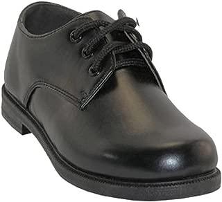 Easy USA Boys Lace Up Dress Shoes - Plain Toe Blucher Oxford