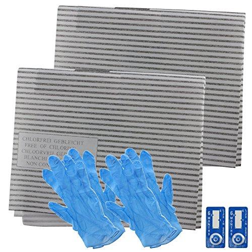 SPARES2GO afzuigkap vet filter kit voor Ignis keuken afzuigkap ventilator