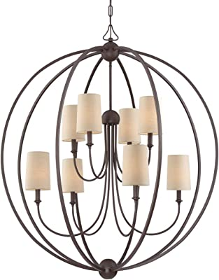 Amazon.com: Lámpara de techo con forma de globo de cobre ...