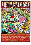 Dynamic Claps Seltenes Poster Konzert Festival Lollapalooza