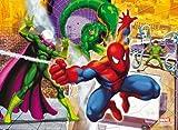 Clementoni Puzzle Magic 3D 20034.4 Spiderman - Puzzle en 3D (104 piezas) [importado de Alemania]