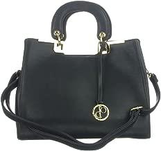 d'Orcia Alexandria Compact Satchel Handbag