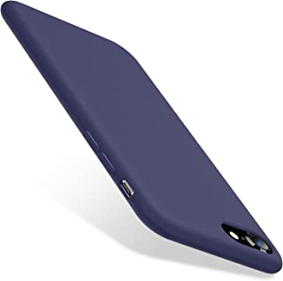 TORRAS [Love Series] iPhone 8 Case/iPhone 7 Case, Liquid Silicone Gel Rubber Case Soft Microfiber Cloth Lining Cushion Compatible with iPhone 8/ iPhone 7, Midnight Blue