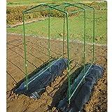 DAIM 空中栽培 つる棚セット 高さ(約)190cm×奥行(約)180cm×間口(約)90~130cm つる野菜の棚支柱が簡単に設置 省スペースな空中栽培が可能 (1)