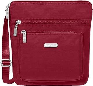 Baggallini Pocket Lightweight Crossbody Bag–Spacious, Water-Resistant Travel Purse.