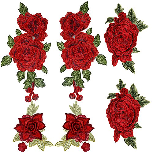 Embroidered Rose - 5