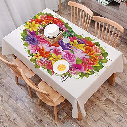Tischdecke abwaschbar 140x200 cm,Celtic, Drei Hunde beißen sich auf den Schwanz Tierformen Wikinger Heritage Celtic Knots Medaillon,,Ölfeste Tischdecke, geeignet für die Dekoration von Küchen zu Hause