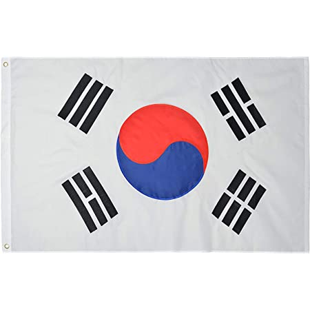 Online Stores South Korea Printed Polyester Flag 3 By 5 Feet Outdoor Flags Garden Outdoor