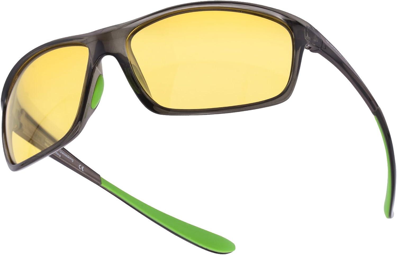 Sports Fashion Sunglasses GLASSESKING For Men Women Driving Fishing Sports Sunglasses Travel Beach Sun Bath