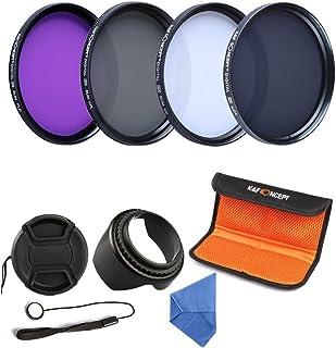 K&F Concept 67mm UV CPL FLD ND4 Filtro Kit de Accessorios de Lente UV Protector Circular Polarizador Filtro Densidad Neutra Filtro para Canon 7D 700D 600D 70D 60D 650D 550D para Nikon D7100 D80 D90 D7000 D5200 D3200 D5100 D3200 D5300 DSLR Cámaras