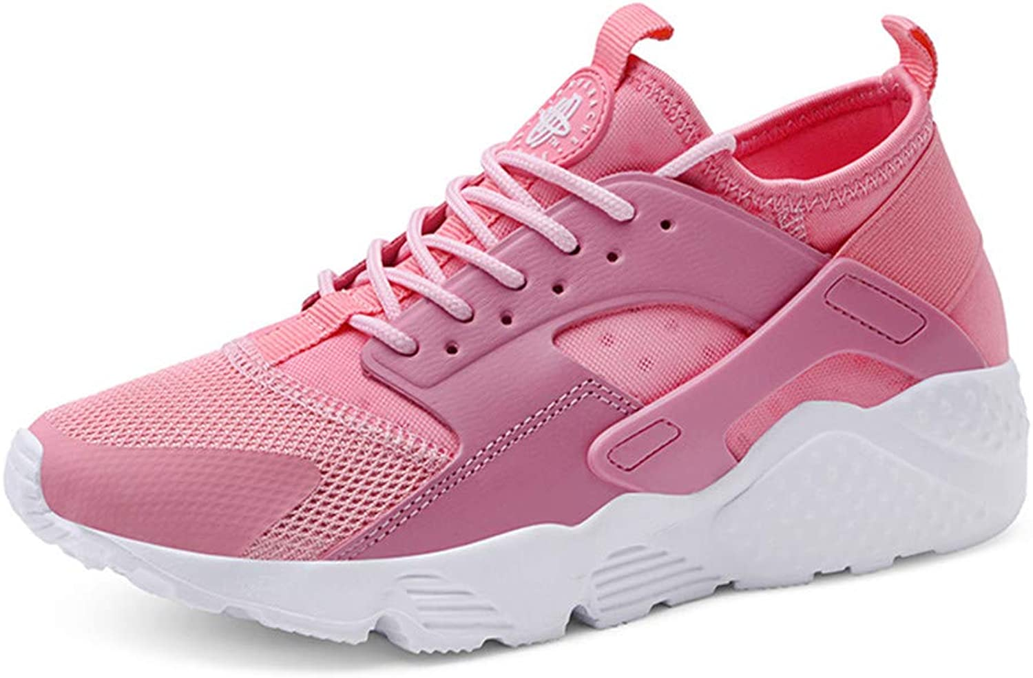 Women Mens Trainers Lace-up Running shoes Lightweight Shock Absorption Outdoor Breathable Casual Walking shoes Air Cushion Fitness Athletic Gym