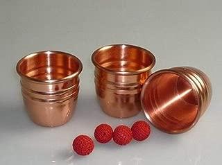 カップアンドボール / Brass (Copper) Cups and Balls -- 魔法を閉じる/Close Up Magic