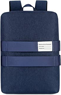 ZNBJBB 15.6 14 Notebook Shoulder Portable Shoulder Three Computer Bag Men And Women Backpack Multi-purpose Design Waterpro...
