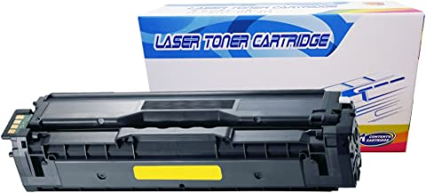 Inktoneram Compatible Toner Cartridge Replacement for Samsung 504S CLP415 CLP-415 CLT-Y504S Y504S CLP-415N CLP-415NW CLX-4195FW CLX-4195FN CLX-4195N SL-C1810W SL-C1860FW (Yellow)