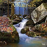 Arkansas Wild & Scenic 2022 12 x 12 Inch Monthly Square Wall Calendar with Foil Stamped Cover, USA United States of America Southeast State Nature