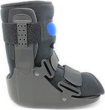 Superior Braces Low Top, Low Profile Air Pump CAM Medical Orthopedic Walker Boot for Ankle & Foot Injuries (Medium)