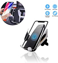 Cetoom Car Wireless Charger, 10W Infrared Sensor Universal Air Conditioner Air Outlet Car Phone Holder Automatic Clamping Gravity Sensor Complete Fast Charging Car Holder for iPhone Xs/Xs Max/XR /