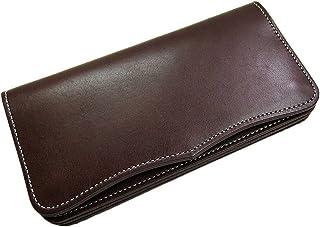 日本製 Maturi 国産 ヌメ革 長財布 ウォレット マトゥーリ MR-026 BR