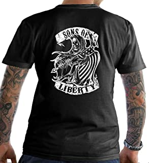 Sons Of Liberty Reaper T-Shirt. Made in USA