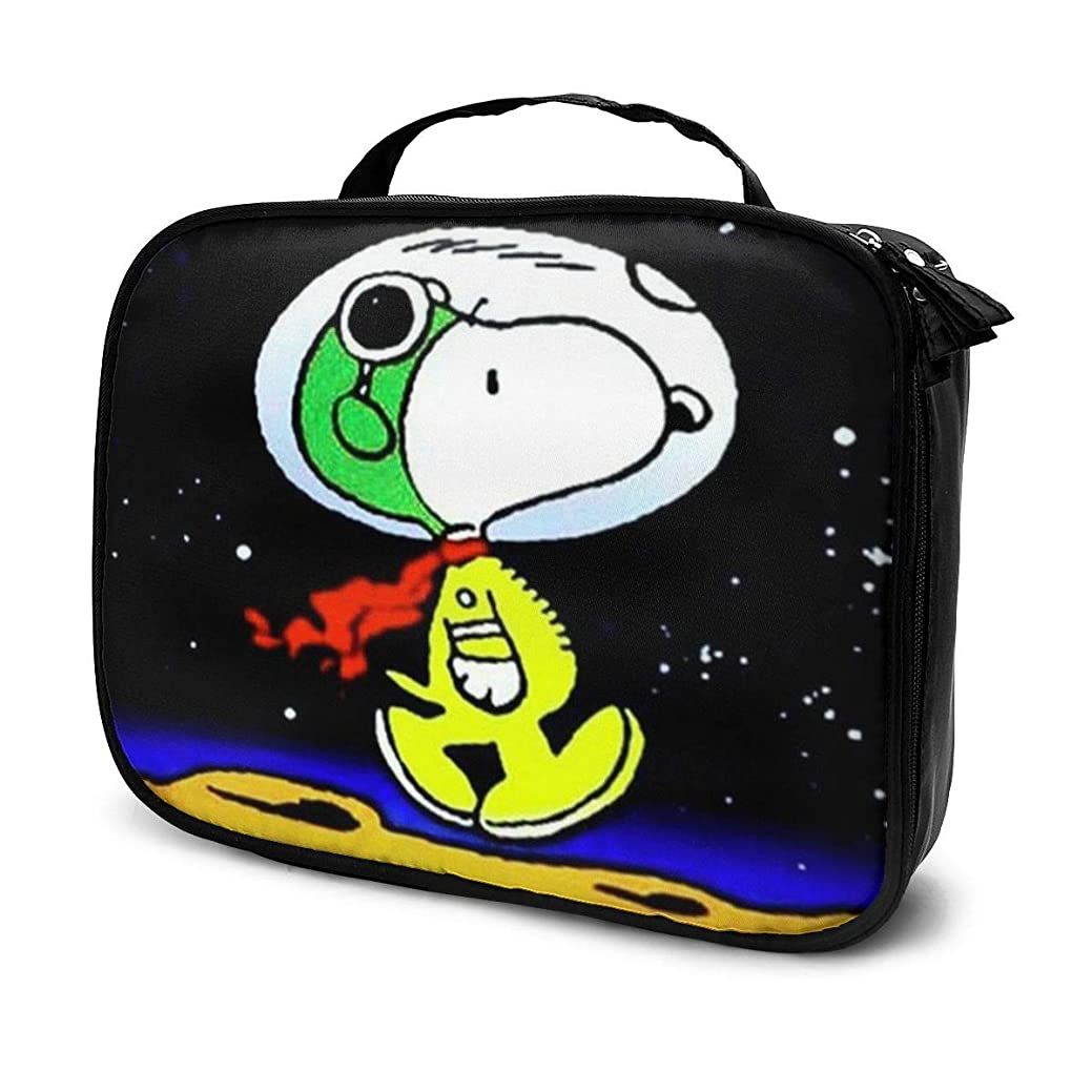 ポルティコ天使静かなDaituSweetdreamスヌーピー 化粧品袋の女性旅行バッグ収納大容量防水アクセサリー旅行