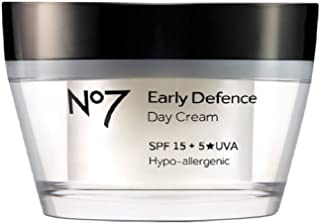 BOOTS No7 EARLY DEFENCE DAY CREAM VITAMIN A (3800)50ML SPF15