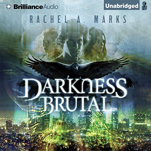 Darkness Brutal audiobook cover art