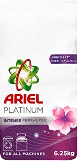 Ariel Platinum Automatic Intense Freshness Laundry Powder Detergent, 6.25kg