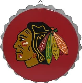 Chicago Blackhawks 2015 Metal Bottle Cap Wall Sign