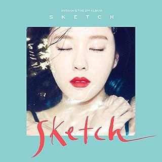 T-ARA HYOMIN [SKETCH] 2nd Mini album [KIHNO VER] KIHNO Card+Photo Book+1p Post Card+TRACKING CODE KPOP