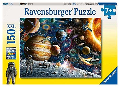 Ravensburger Kinderpuzzle 10016 - Im Weltall - 150 Teile