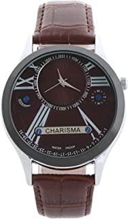 Charisma Casual Watch for Men, LeatherBand, C66508