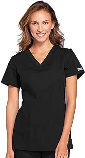 CHEROKEE womens V-Neck Top Medical Scrubs