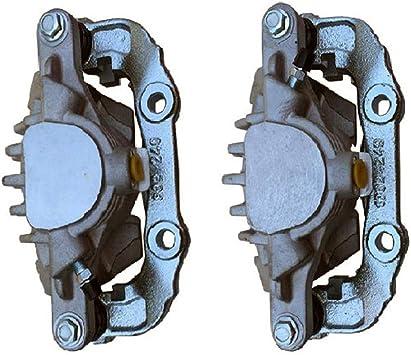 Set of 2 Rear Side Brake Caliper Assembly Compatible with Chevrolet S10 Blazer GMC Jimmy Sonoma Isuzu Oldsmobile