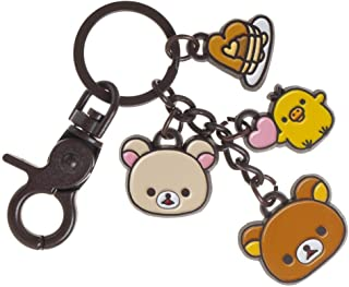 rilakkuma bear keychain
