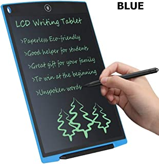 LCD Writing Tablet , Electronic Writing & Drawing Doodle Board,Portable Reusable Magnetic Notepad,10Inch Message Board for Business,Home Message Board,Kid (Blue)
