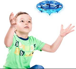 Wandeson Flying Ball Infrared Sensor Interactive UFO Toy Intelligence Sensor Aircraft Flying Toy for Children