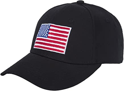 WENDYWU American Flag Baseball Cap Unisex Cotton Structured with Snapback Closure